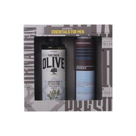 Korres Promo Essentials for Men Pure Greek Olive Showergel Κέδρος 250 ml & Aftershave Balm Καλέντουλα Ginseng 200 ml