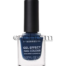 Korres Gel Effect Nail Colour 84 Indigo Blue11ml
