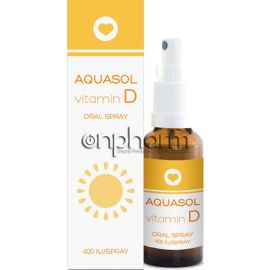 Aquasol Vitamin D3 Oral Spray 15ml