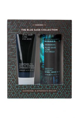 Korres Promo Aftershave Balm Blue Sage/Lime/Fir Wood 125ml & Αφρόλουτρο 250ml