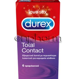 Durex Total Contact 6Τεμάχια