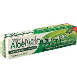 Optima Aloe Dent Triple Action Toothpaste 100ml