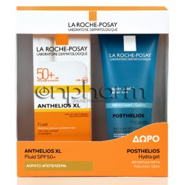 La Roche Posay Promo Anthelios Fluid Ultra Light AP SPF50+ 50ml & Δώρο Posthelios 100ml