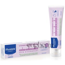 Mustela 123 Vitamin Barrier Cream 100ml