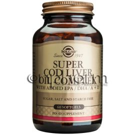 Solgar Super Cod Liver Oil Complex Softgels 60s