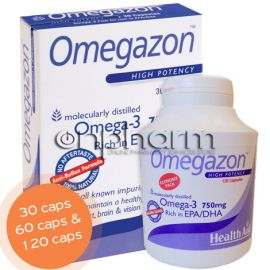 Health Aid Omegazon 750mg 30Κάψουλες