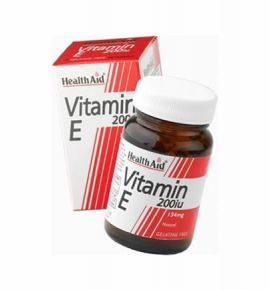 Health Aid Vitamin E 200iu Natural vegetarian 60 caps