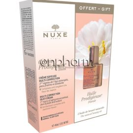Nuxe Promo Prodigieuse Boost Day Silky Cream 40ml με ΔΩΡΟ Huile Prodigieuse Floral 10ml