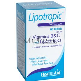 Health Aid Lipotropic 60Ταμπλέτες