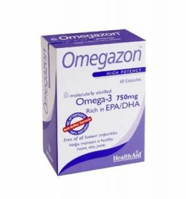 Health Aid Omegazon 750mg 60κάψουλες