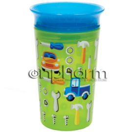 Munchkin Miracle 360° Sippy Cup Μπλε Πράσινο 266ml