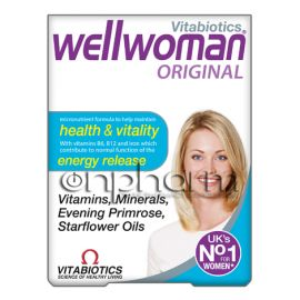 Vitabiotics Wellwoman Original 30 Κάψουλες