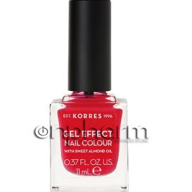Korres Gel Effect Nail Colour 19 Watermelon 11ml