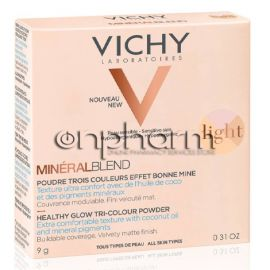 Vichy MineralBlend Healthy Glow Tri-Color Powder Fair 9g