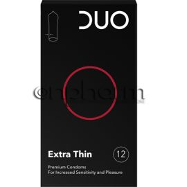 Duo Extra Thin-Πολύ Λεπτό 12τεμ