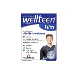 Vitabiotics Wellteen Him 30 Tαμπλέτες