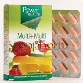 Power Health Multi + Multi Εxtra 30ταμπλέτες