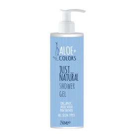 Aloe+ Colors Shower Gel Just Natural 250ml