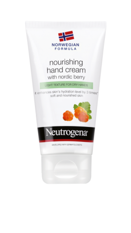 Neutrogena Nourishing Hand Cream με nordic berry 75ml