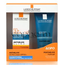 La Roche Posay Promo Anthelios Ultra Cream AP SPF50+ 50ml & Δώρο Posthelios 100ml