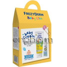 Frezyderm Promo Baby Cream 175ml με Δώρο Frezyderm Baby Foam 80ml