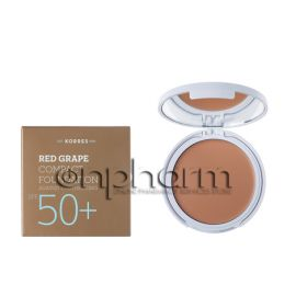 Korres Κόκκινο Σταφύλι Compact Foundation Spf50 8g