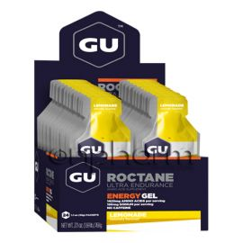 GU Roctane Energy Gel 32g Pack 24τεμάχια-Γεύση Lemonade