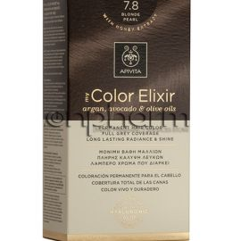 Apivita My Color Elixir 7.8 Ξανθό Περλέ