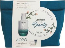 Vichy Promo Slow Age Fluide SPF 25 50ml & Slow Age Night 15ml & Mineral 89 4 ml & Mineral 89 Eyes 1ml