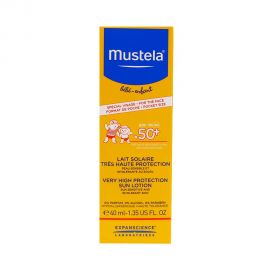 Mustela Sun Lotion Very High Protection SPF50+ 40ml
