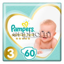 Pampers Premium Care N3 (6-10 kg)  60Τεμάχια
