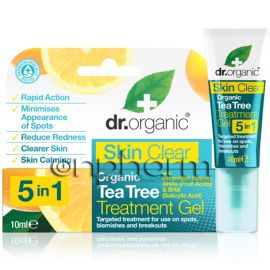 Dr.Organic Skin Clear-Organic Tea Tree Treatment Gel 10ml