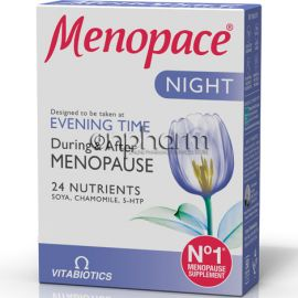 Vitabiotics Menopace Night 30Ταμπλέτες