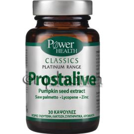 Power Health Platinum Prostalive 30κάψουλες