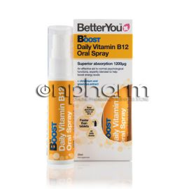 BetterYou Boost B12 Υπογλώσσιο Spray 25ml