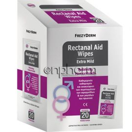 Frezyderm Rectanal Aid Wipes 20Τεμάχια