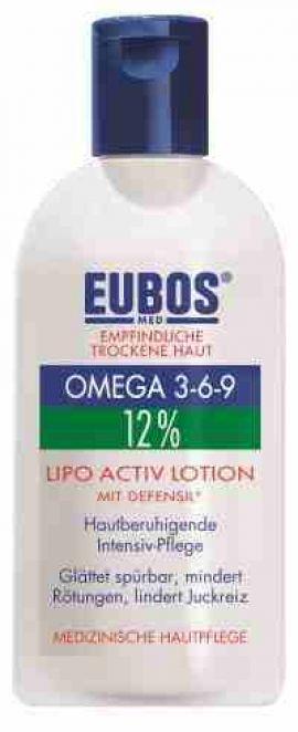 Eubos Omega 3-6-9 Lipo Active Lotion Defensil , 200 ml