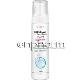 Vican Wise Beauty Micellar Cleansing Foam 200ml