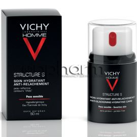 Vichy Homme Structure S Κρέμα Προσώπου για Άνδρες 50ml