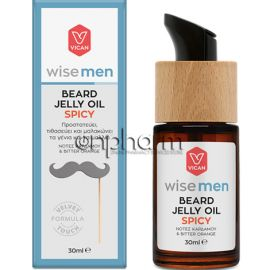 Vican Wise Men Beard Jelly Oil Spicy 30ml