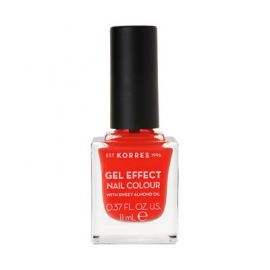 Korres Gel Effect Βερνίκι Νυχιών  Nail Colour 45 Coral 11 ml