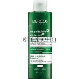 Vichy Dercos Anti-Dandruff K Deep Purifying Shampoo 250ml
