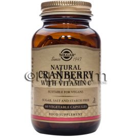 Solgar Cranberry Extract with Vitamin C veg.caps 60s