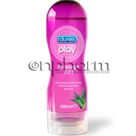 Durex Play Massage Aloe Vera Gel 200ml