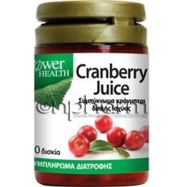 Power Health Cranberry Juice 4500mg 30ταμπλέτες
