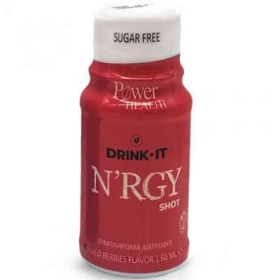 Power Health Drink It N'RGY 60ml Γεύση Mixed Berries