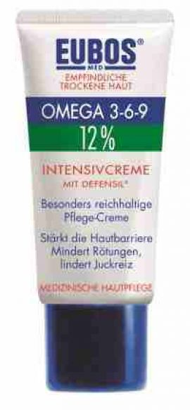 Eubos Omega 3-6-9 Intensive Cream Defensil, 50 ml