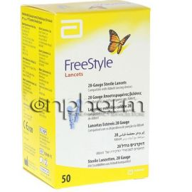 Freestyle Lancets  50Τεμάχια