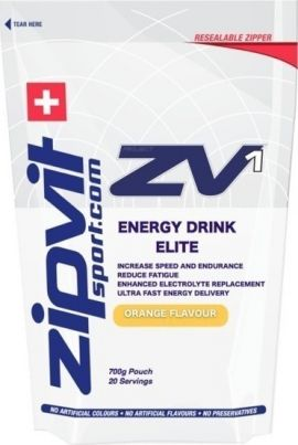 Zipvit ZV1 Energy Drink Elite Orange 700g Pouch