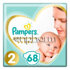 Pampers Premium Care N2 (4-8 kg)  68Τεμάχια
